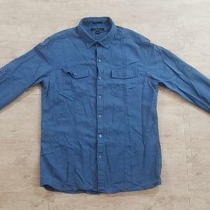 Marc Anthony Slim Fit Utility Shirt